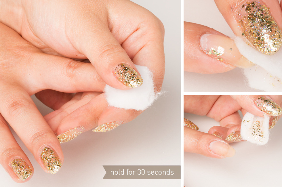 How To Remove Glitter Nail Polish Easily Fast Without Foil